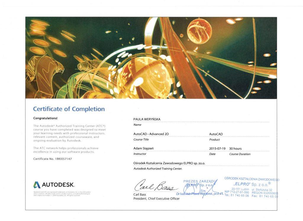 Certyfikat AutoCad2 — kopia